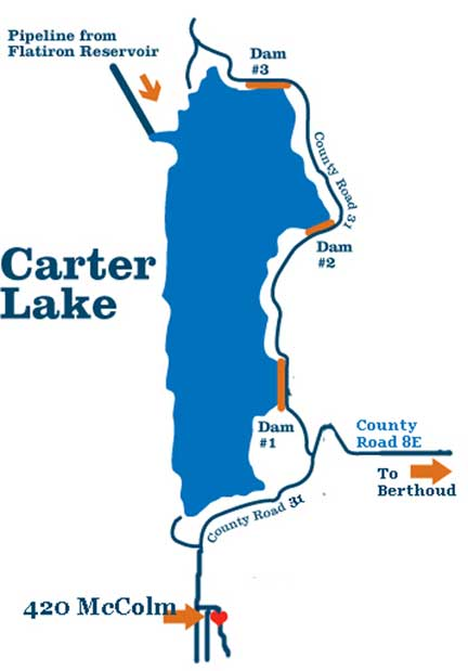 Private Home DETAILS, Lower Floor Rental Unit near Carter Lake